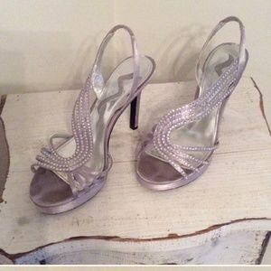 Nina Brand Rhinestone size 7 shoes